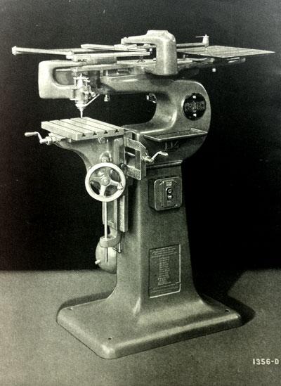 Gorton 3U Pantograph Engraver